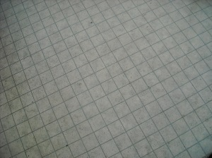 Faux kitchen tile